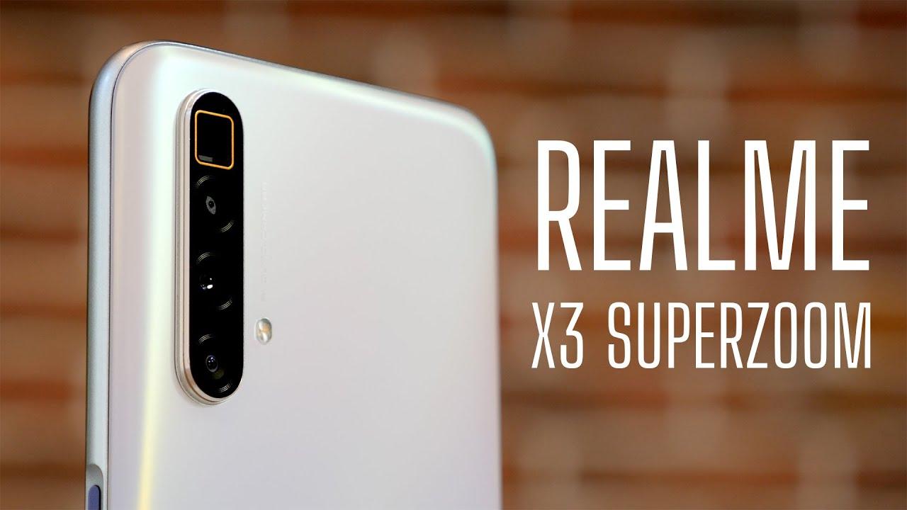 Realme X3 с камерой супер зум